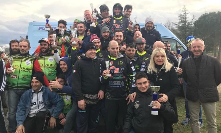 Grande successo per la prima prova del Campionato regionale di enduro a Serralta