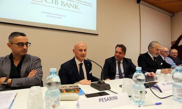 """Macerata, """"Focus Ungheria"""": nuove opportunità di business per le aziende marchigiane (FOTO)"""