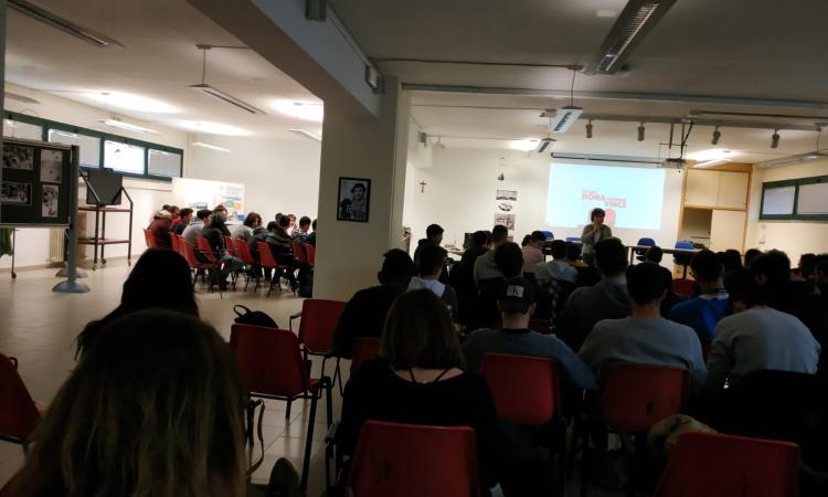 Recanati, presentato il progetto Donaction all'IIS Mattei