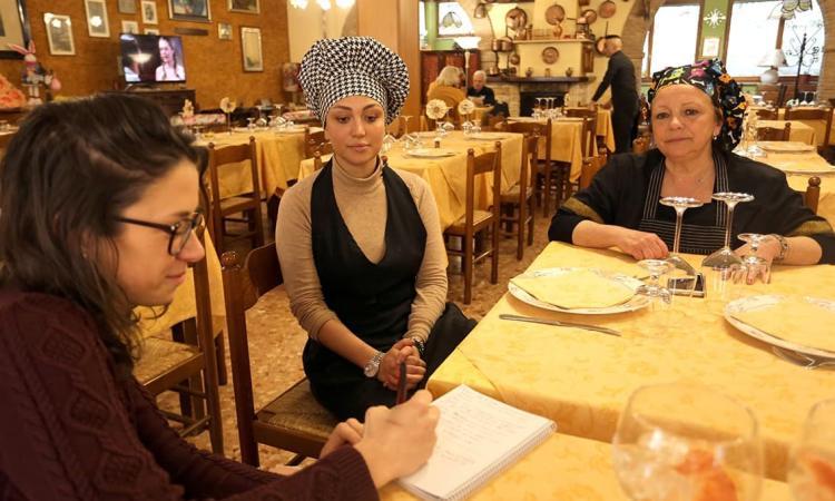 """Tradizione e innovazione della cucina a base di trota del Ristorante """"Da Faustina"""" a Sefro (FOTO)"""