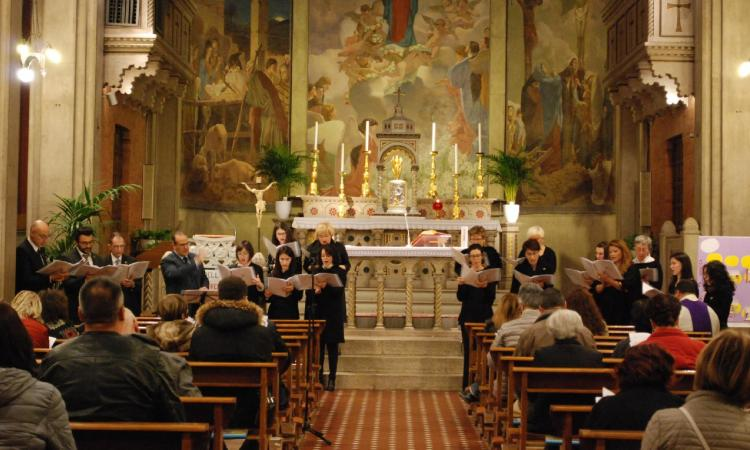 Macerata, la catechesi del Vescovo Marconi sulla Passione al Santuario della Madonna della Misericordia