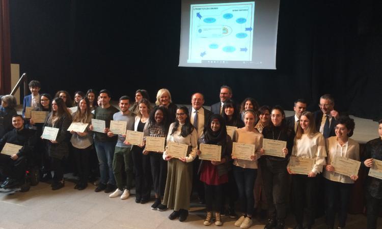 Oggi la cerimonia di consegna delle borse di studio della Fondazione Fileni a Castelplanio