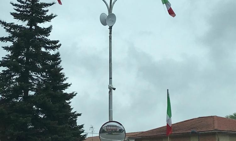 Telecamere di videosorveglianza a Caldarola: attivo il controllo h24 del paese