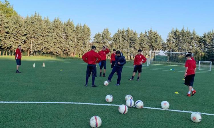 Sangiustese, aggiornamento tecnico con coach Senigagliesi per i ragazzi dell'Olimpia Ostra Vetere