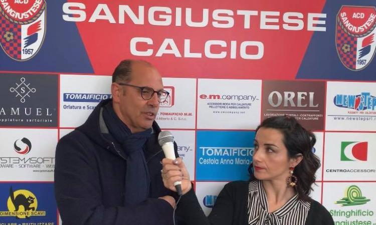 Sangiustese, intervista al Dg Cossu in vista del derby di domenica contro la Recanatese