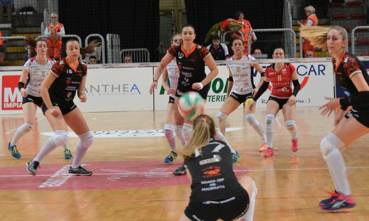 Volley Coppa Italia B1 Final Four, Roana CBF sconfitta a Vicenza nel primo match (FOTO)