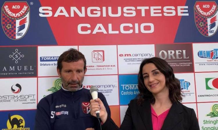 Sangiustese, le parole di mister Senigagliesi in vista del match contro la Savignanese