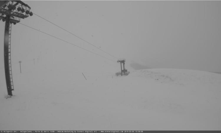 Neve a maggio a Bolognola, Frontignano e Sassotetto (FOTO)