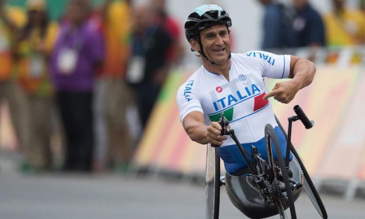 """Corridonia, Coppa del Mondo di ciclismo paralimpico, Zanardi: """"Spettacolo da seguire"""" (VIDEO)"""