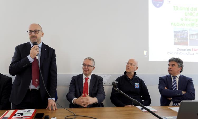 Unicam, inaugurato il nuovo polo di Informatica (FOTO E VIDEO)