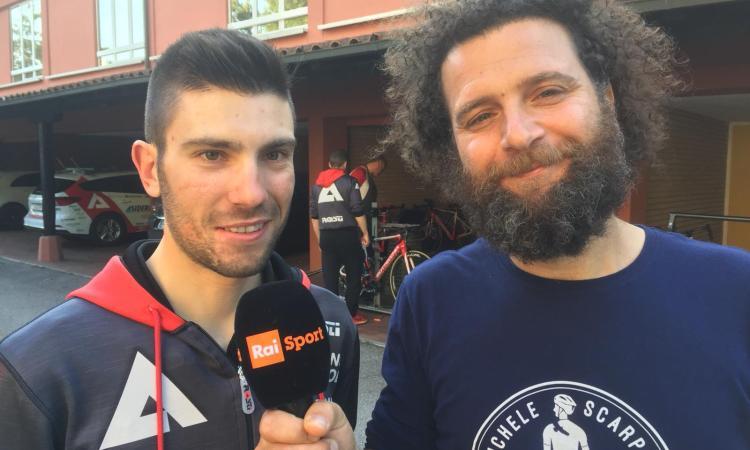 Marco Scarponi diventa opinionista Rai al Giro d'Italia: terrà una rubrica contro la violenza stradale