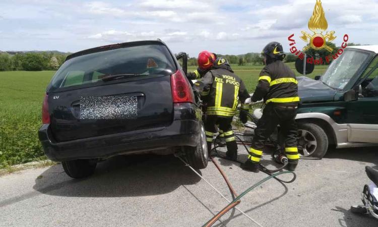 Tragico incidente in località Rocchetta: un morto. Coinvolto anche il fratello del sindaco di Pollenza  (FOTO E VIDEO)