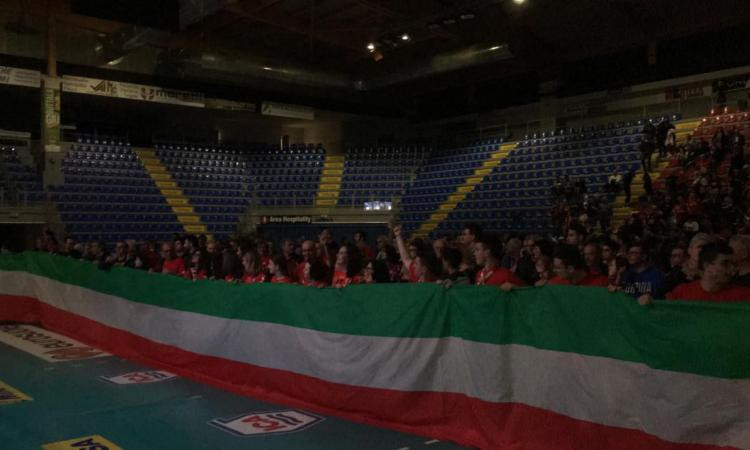 La Lube è sul tetto d'Europa: la reazione dei tifosi all'Eurosuole Forum (FOTO e VIDEO)