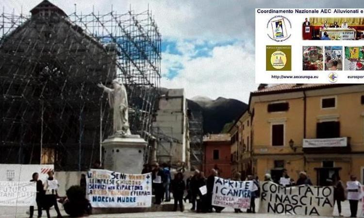 """Il """"Popolo dei Terremotati"""" manifesta a Giugno a Roma: """"Ricostruzione subito"""""""