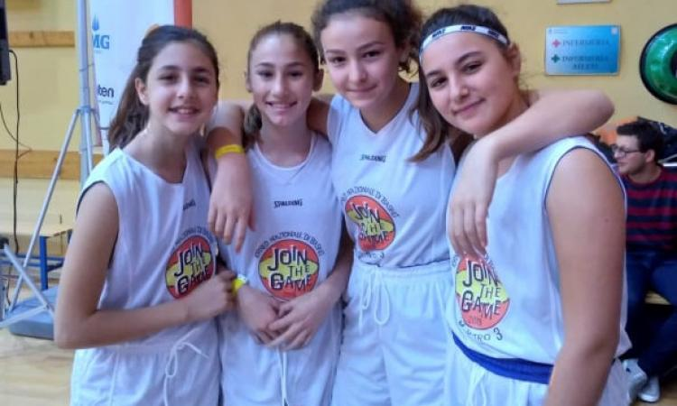 "Civitanova, bilancio positivo per la compagine under 13 F della Feba al ""Join the Game"""