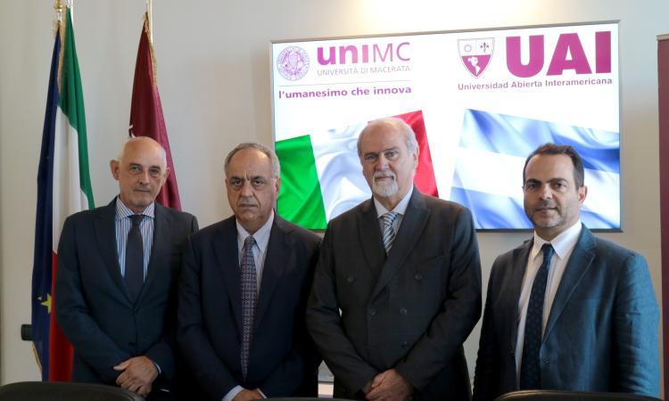 UniMc, nuovo accordo internazionale con l'Argentina