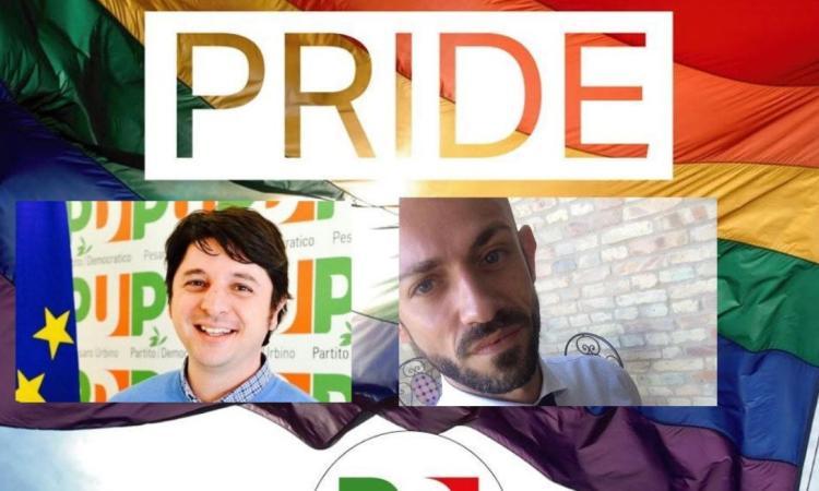"""Marche Pride, Pd: """"Orgogliosi delle conquiste sui diritti civili, andiamo avanti"""""""