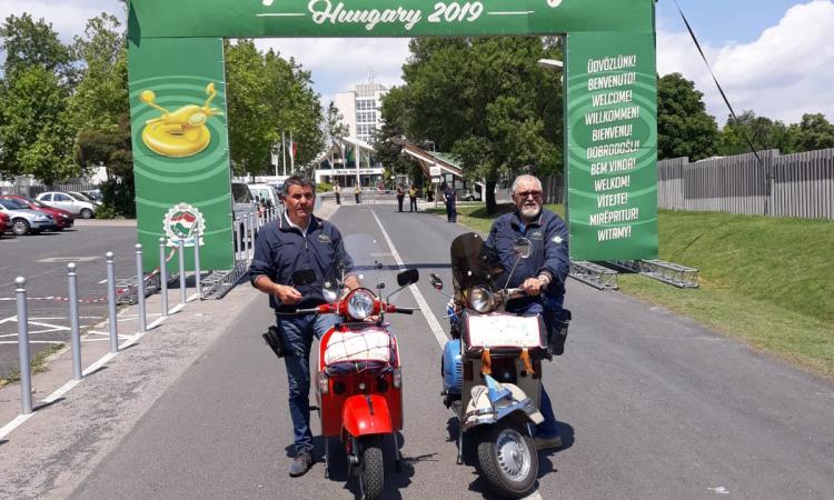 Vespa World Days: anche due settempedani al mega raduno in Ungheria