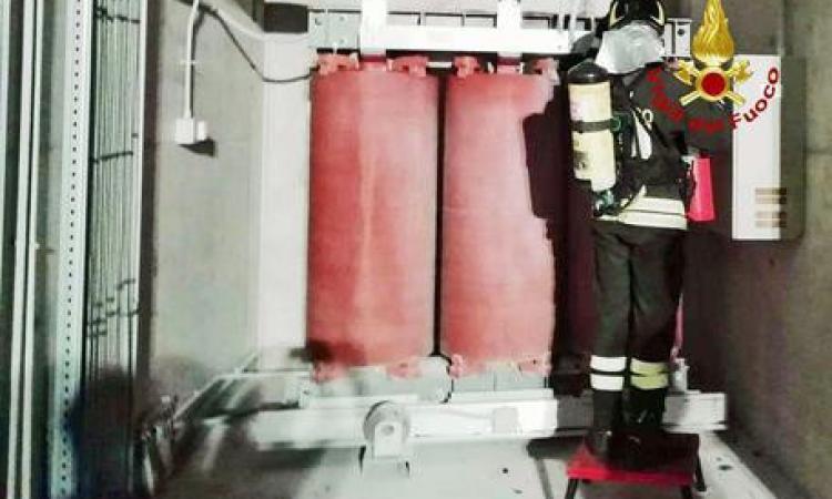 Incendio nella notte all'Ospedale Torrette: fiamme all'impianto elettrico di emergenza