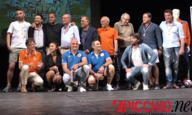 Tutte le emozioni della festa per il centenario del Portorecanati (VIDEO)