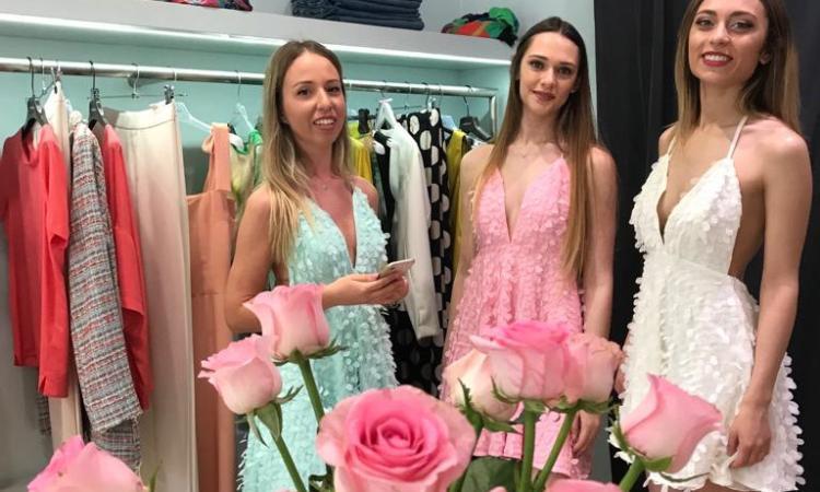 Civitanova, Flower Party: la stilista Federica Bellesi ha presentato le sue nuove creazioni