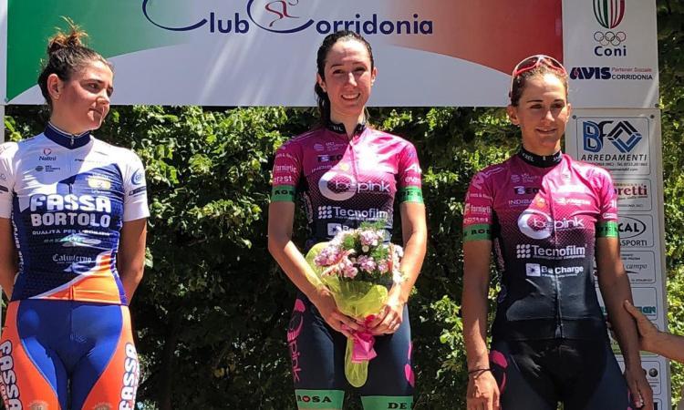 Ciclismo silvia magri conquista il gp bf arredamenti a for Magri arredamenti
