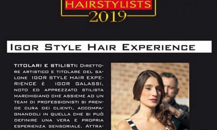 """Tolentino, """"Igor Style"""" inserito nella guida delle 100 migliori parrucchierie d'Italia"""