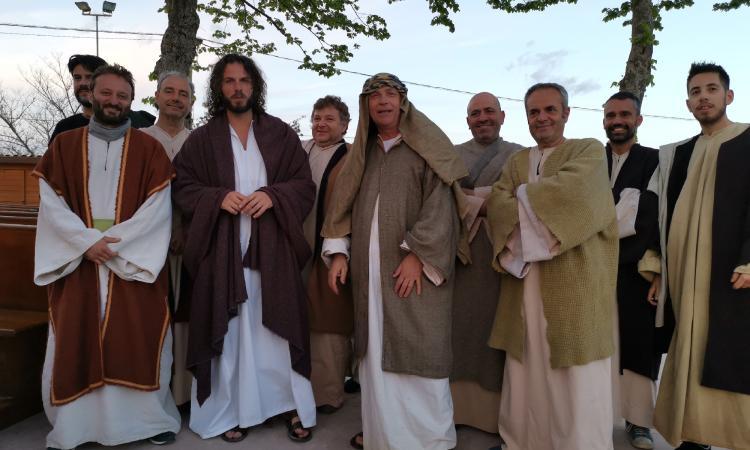 Tolentino, la Passione di Cristo della Bura domani in onda su Rete 4 (FOTO)