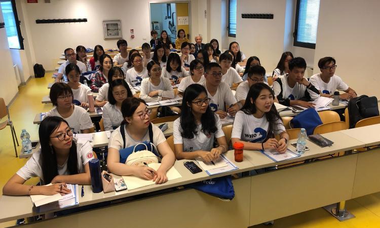 Macerata, arte e cultura occidentale: studenti cinesi a UniMC
