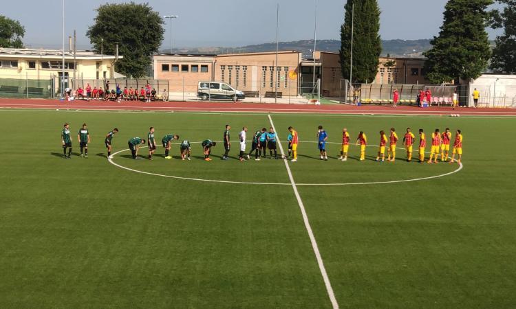 Recanatese, sconfitta per 3-0 in amichevole contro il Bitonto