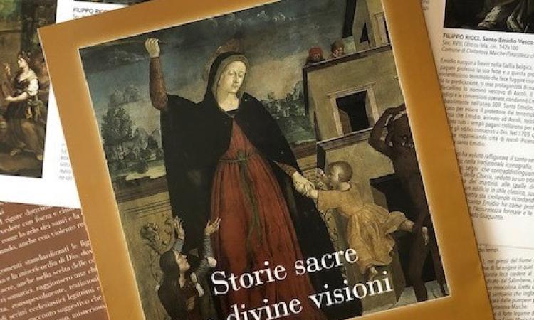 """""""Storie sacre e divine visioni"""", capolavori del '500 e del '700 in mostra a Civitanova Alta"""