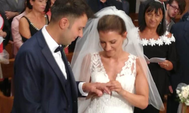 Macerata, Nicola e Sara oggi sposi (FOTO)