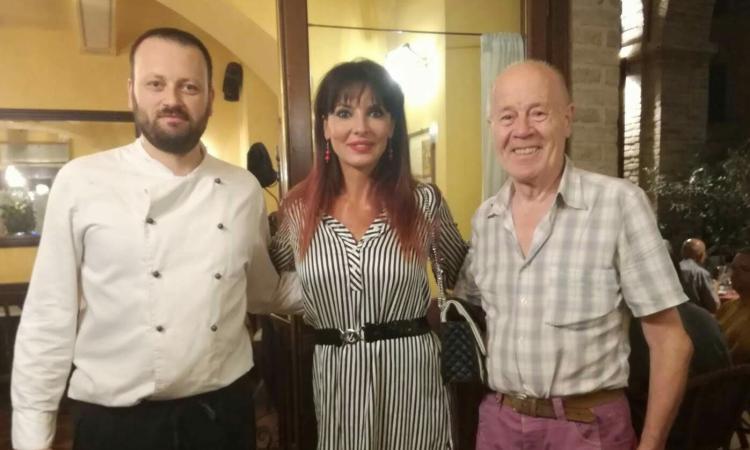 """Urbisaglia, Lorena Bianchetti e Miriana Trevisan ospiti alla locanda """"Le Logge"""""""