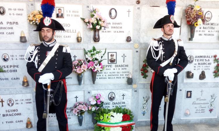Montefano, celebrato il 40° anniversario della scomparsa del Brigadiere Giuseppe Diaschi