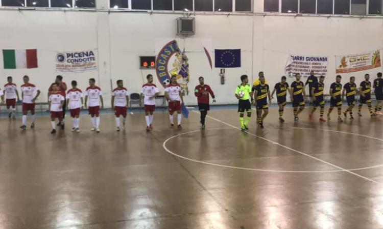Coppa Marche, termina con un pareggio la sfida tra Borgorosso Tolentino e Bocastrum United