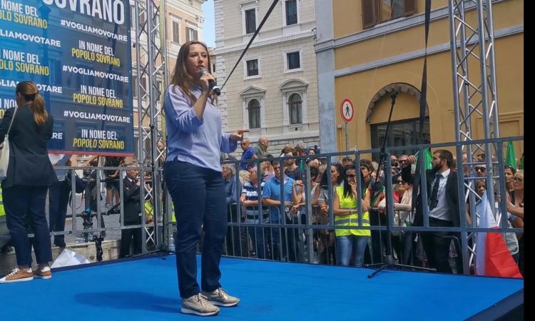 """Manifestazione contro il Governo giallorosso, Leonardi: """"Promesse non mantenute per i terremotati"""""""