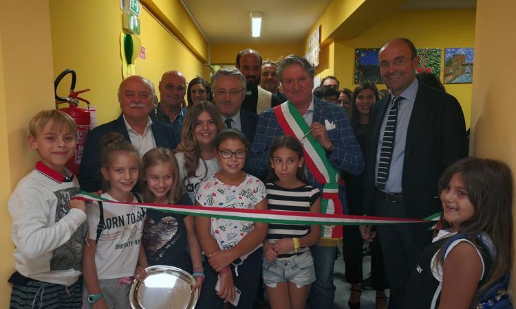 Tolentino, inaugurato il nuovo plesso della scuola Grandi (FOTO)