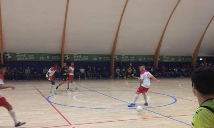 Calcio a 5, il Borgorosso Tolentino approda ai sedicesimi di Coppa Marche: 4-3 al Bocastrum United