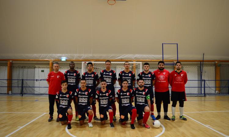 Calcio a 5, prima vittoria in campionato per il Borgorosso Tolentino: Montecarotto battuto per 4-2