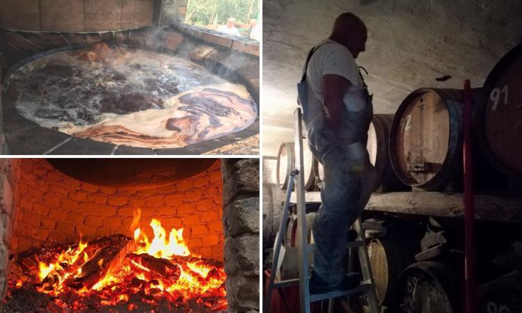 Il segreto del vino cotto della Cantina Caonà di Loro Piceno (FOTO)