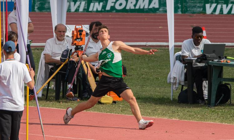 Atletica AVIS Macerata, ai Campionati Italiani è argento per Giovanni Stella Fagiani (FOTO)