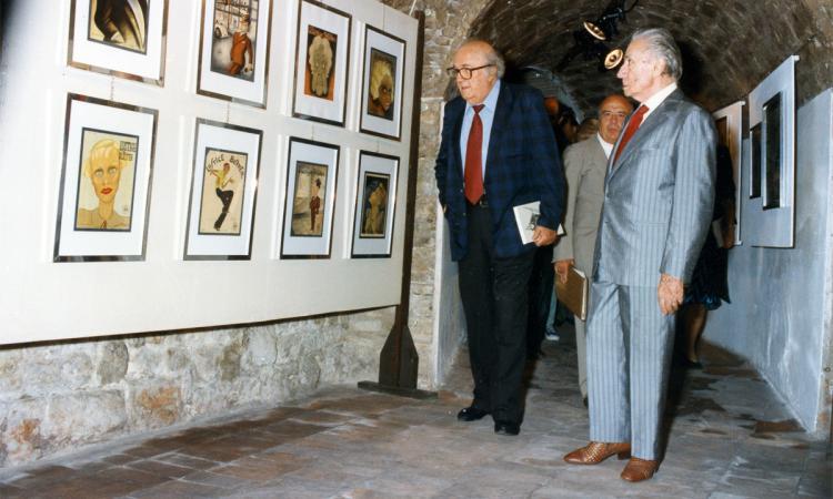 Tolentino, Popsophia omaggia Federico Fellini con una mostra alla Biumor 2019