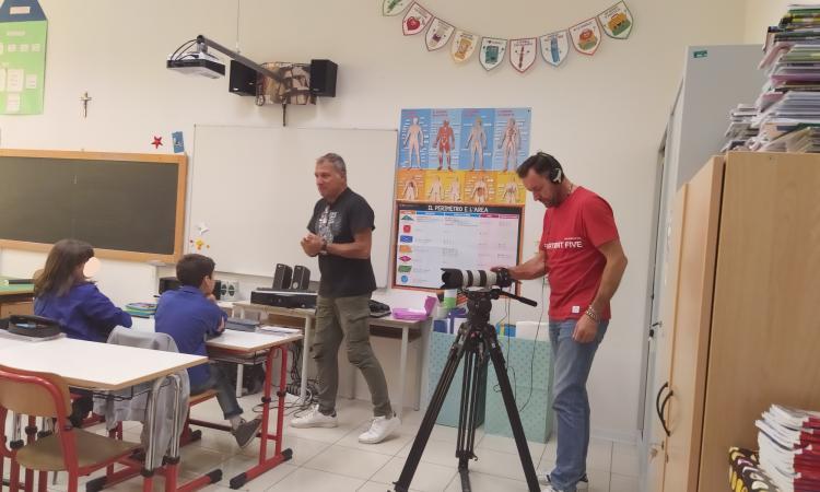 """Tolentino, gli alunni del """"Don Bosco"""" partecipano a un docufilm sull'uso dell'acqua"""