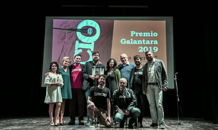 Montelupone, la redazione di Lercio riceve il Premio Galantara (FOTO)