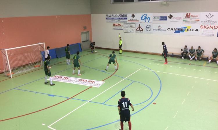 Calcio a 5, Serie C2: Borgorosso Tolentino battuto dal Cus Macerata