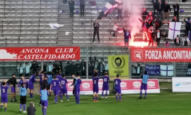Reti inviolate al Del Conero, ottimo pareggio per il Montefano contro l'Anconitana