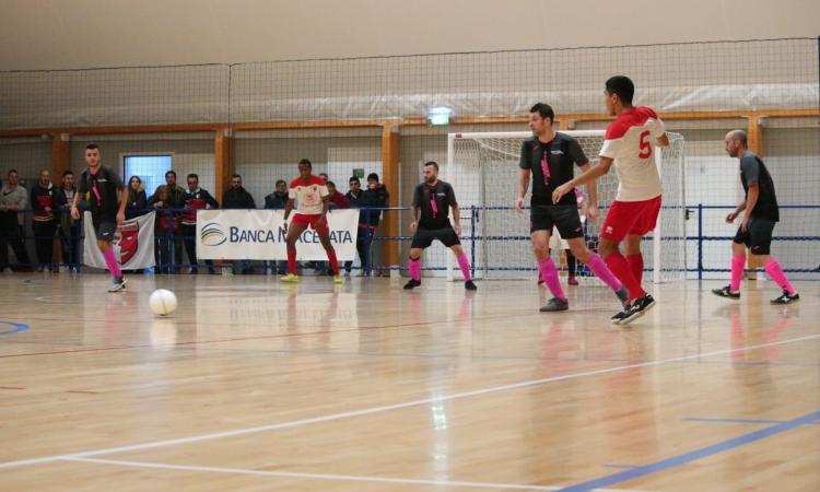 Calcio a 5, il Borgorosso Tolentino in casa non sbaglia: battuto Montecassiano
