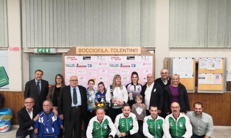 """Trofeo femminile """"Città di Tolentino"""": grande successo per l'evento dell'Associazione Bocciofila"""