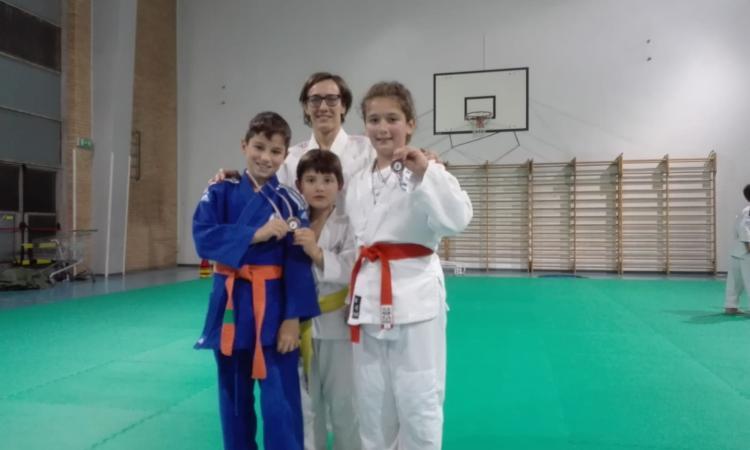 Tre alfieri del judo bianco rosso premiati al Gran Premio giovanissimi di Civitanova