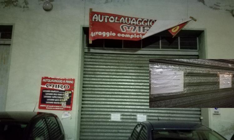 Macerata, sfruttamento del lavoro: sequestrato l'autolavaggio Miro in corso Cavour